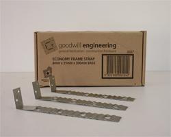 Frame Strap 0.8x25x150mm (Price per piece-150 per box)