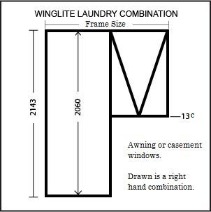 Winglite Laundry Frame